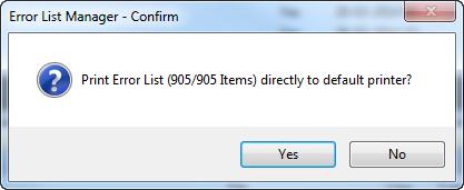 Printing Visual Studio's Error List using ELM